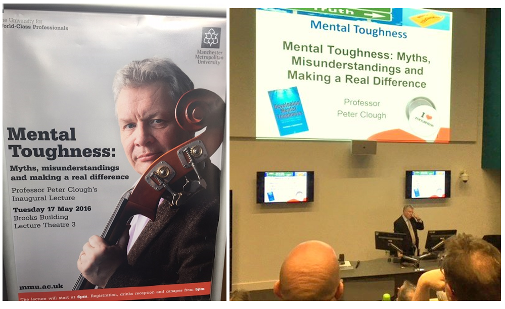 Mental Toughness – Professor Peter Clough's Inaugural Lecture at MMU