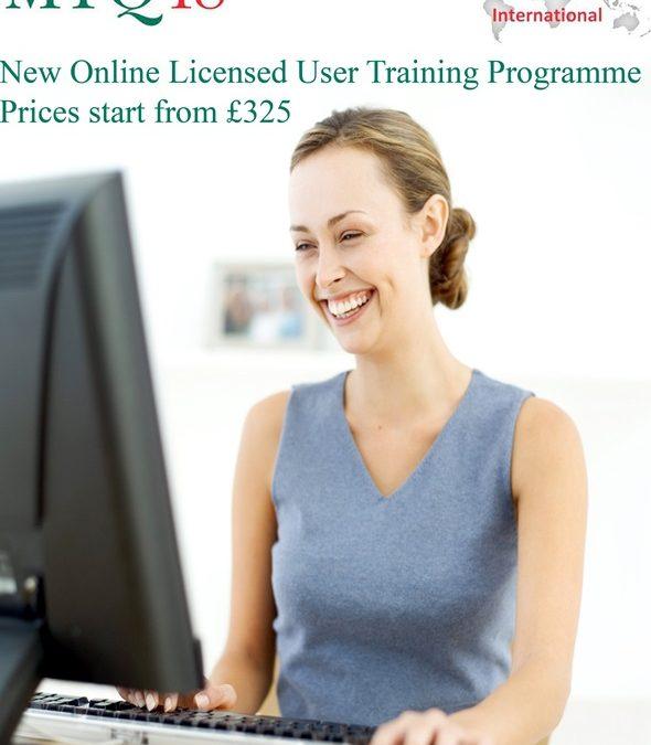 NEW Online MTQ48 Licensed User Training Programme.