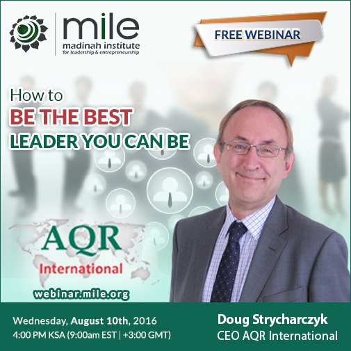 Webinar: How to be the best Leader you can be