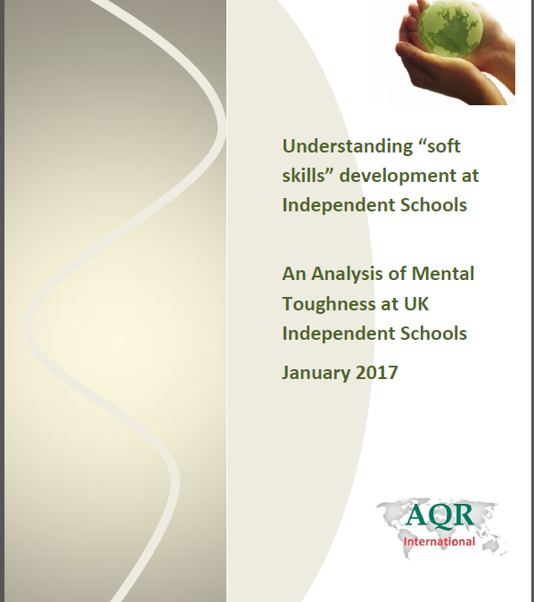The ISC/AQR Study on Soft Skills in UK Independent Schools