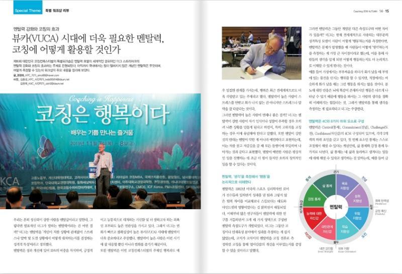 MENTAL TOUGHNESS AND THE KOREAN COACHING ASSOCIATION