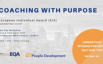 Coaching with Purpose Programme – 23rd and 24th April in London, Whitechapel