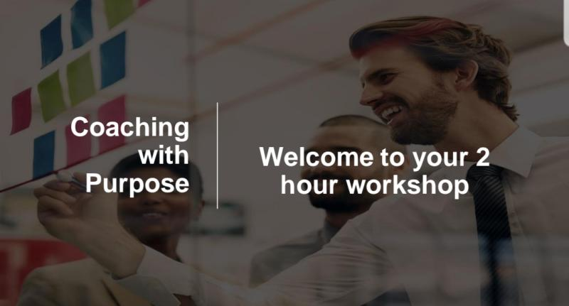 Coaching with Purpose Workshop