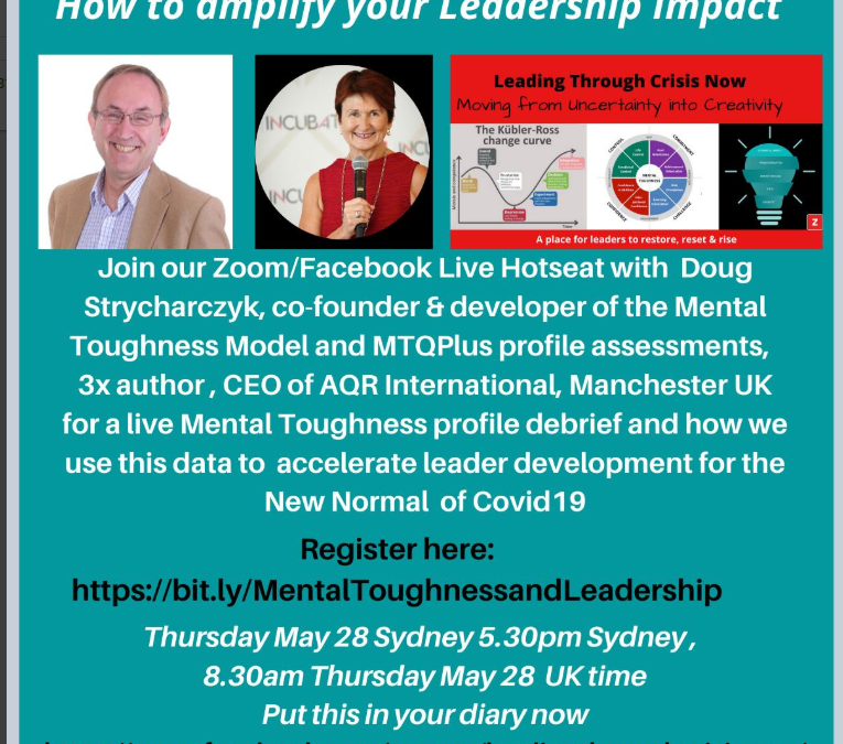 Webinar: How to Amplify your Leadership Impact