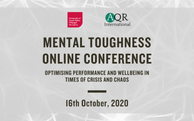 Mental Toughness Online Conference – Friday 16th October