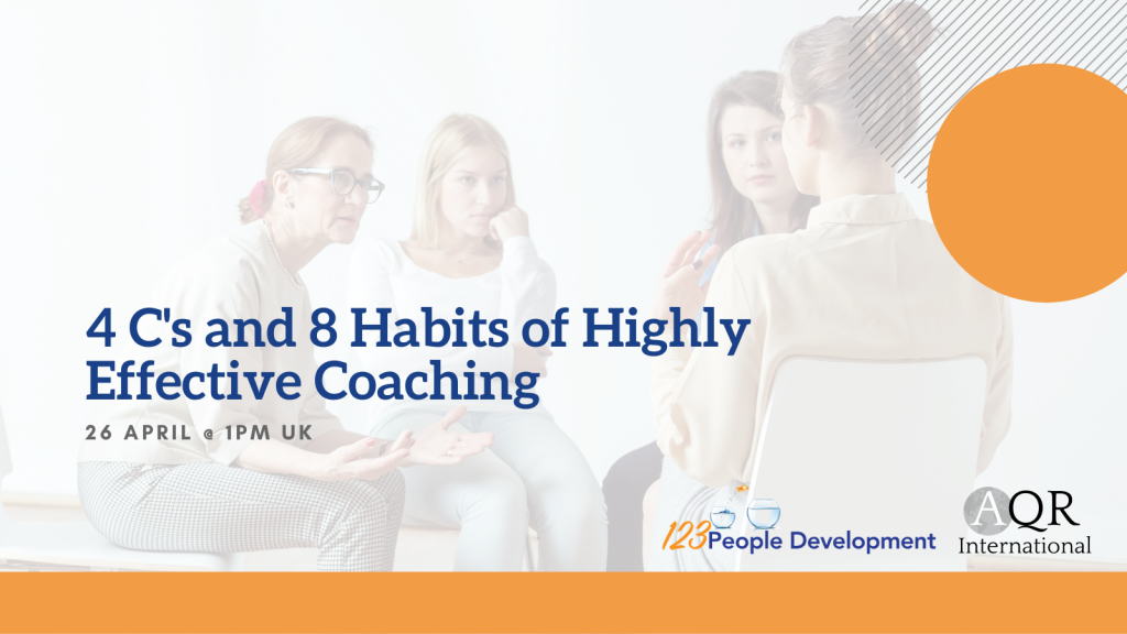 4 C's and 8 Habits of Highly Effective Coaching Webinar